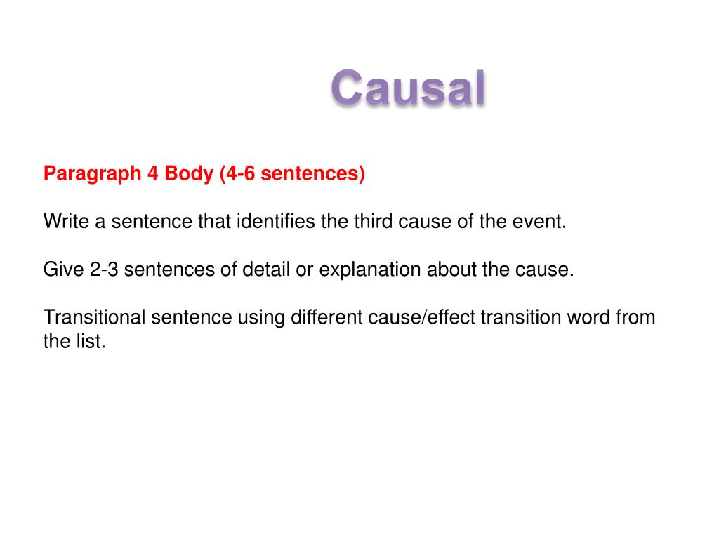 PPT - Cause and effect essays PowerPoint Presentation - ID
