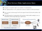 how services make applications open15