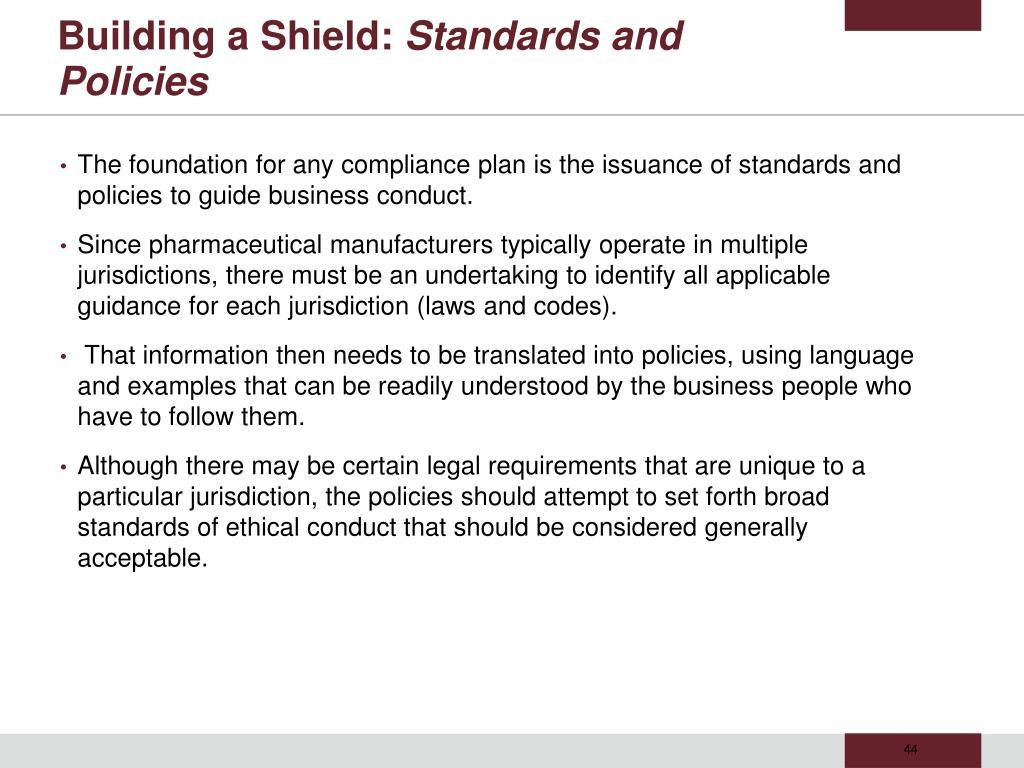 Building a Shield: