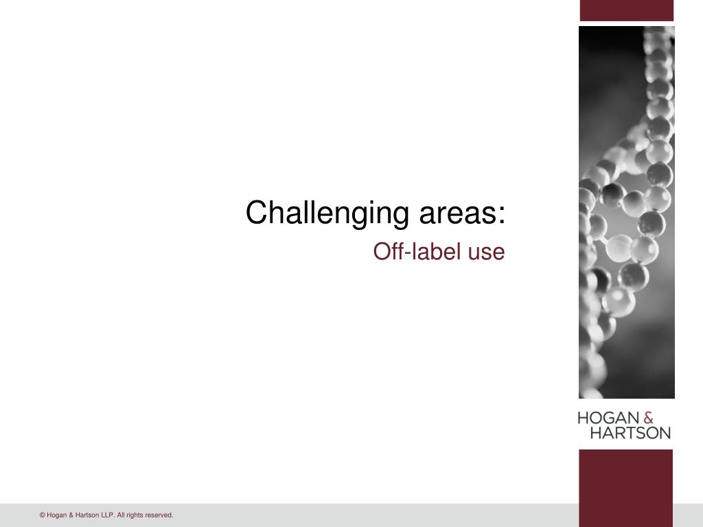 Challenging areas: