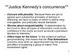 justice kennedy s concurrence