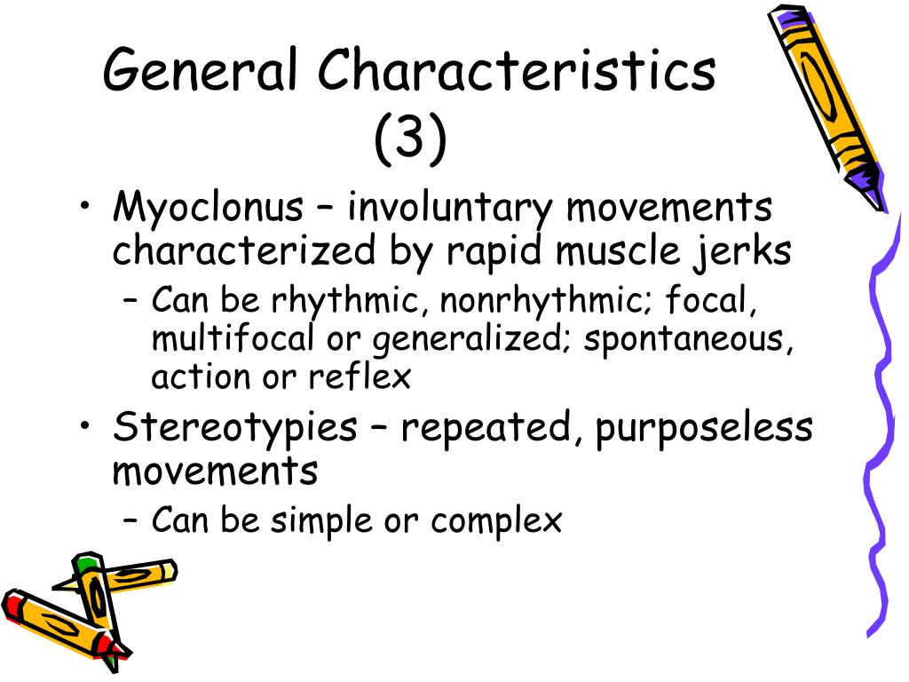 General Characteristics (3)