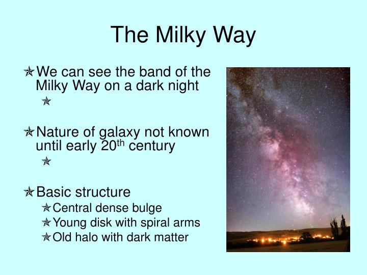 The milky way2
