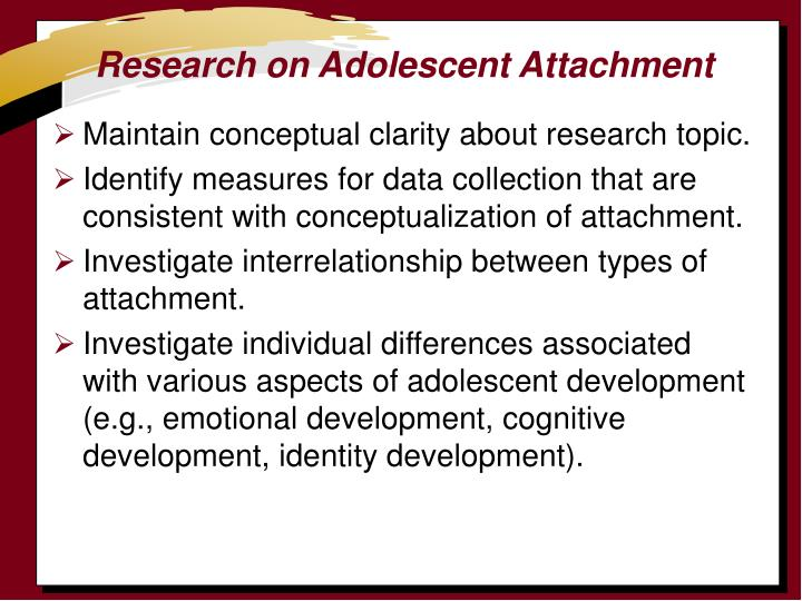 Understanding the nature of child attachment theory