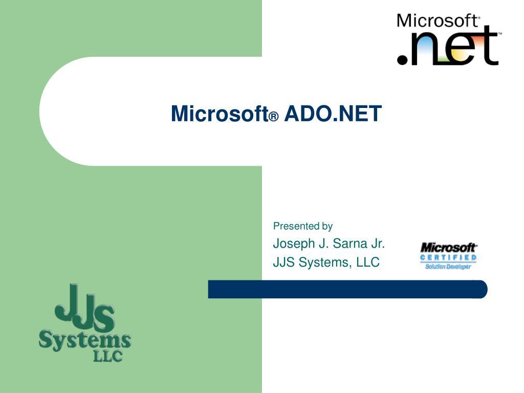 microsoft ado net l.