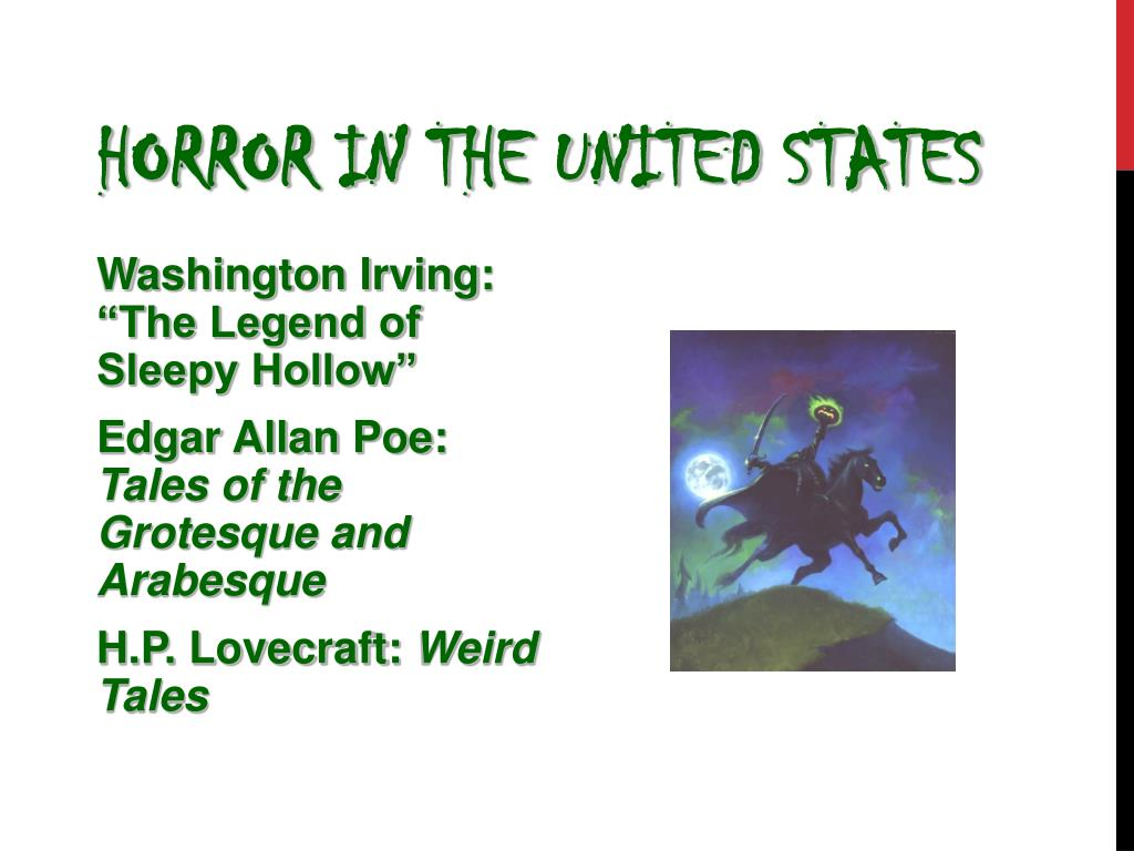 Horror in the United States
