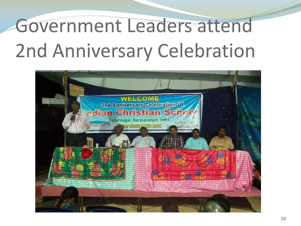 Government Leaders attend 2nd Anniversary Celebration