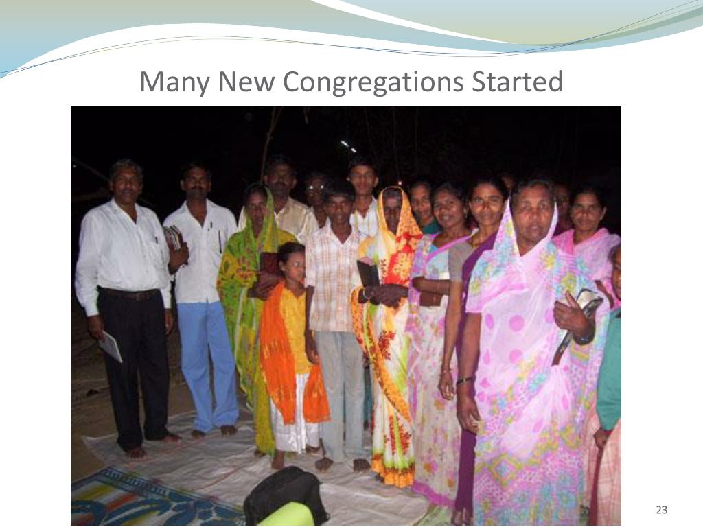 Many New Congregations Started