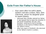 exile from her father s house