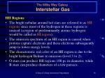 the milky way galaxy interstellar gas16