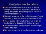 libertarian functionalism