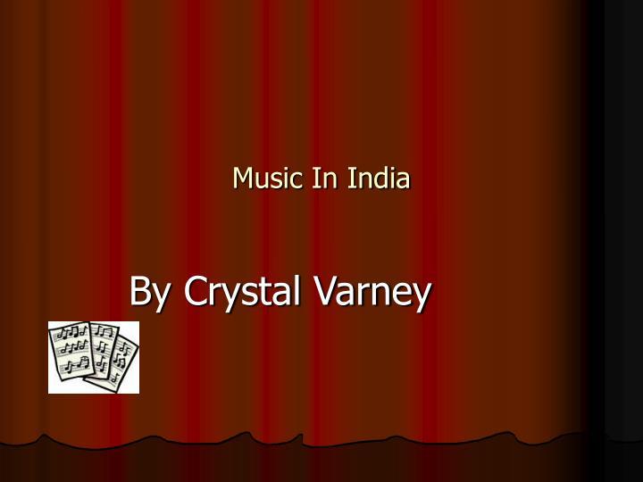 music in india n.