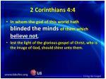 2 corinthians 4 4