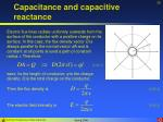 capacitance and capacitive reactance25