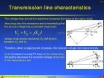 transmission line characteristics41