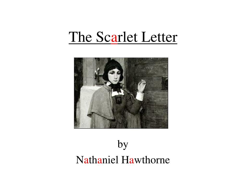 the sc a rlet letter l.