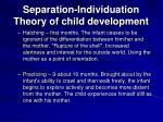 separation individuation theory of child development19