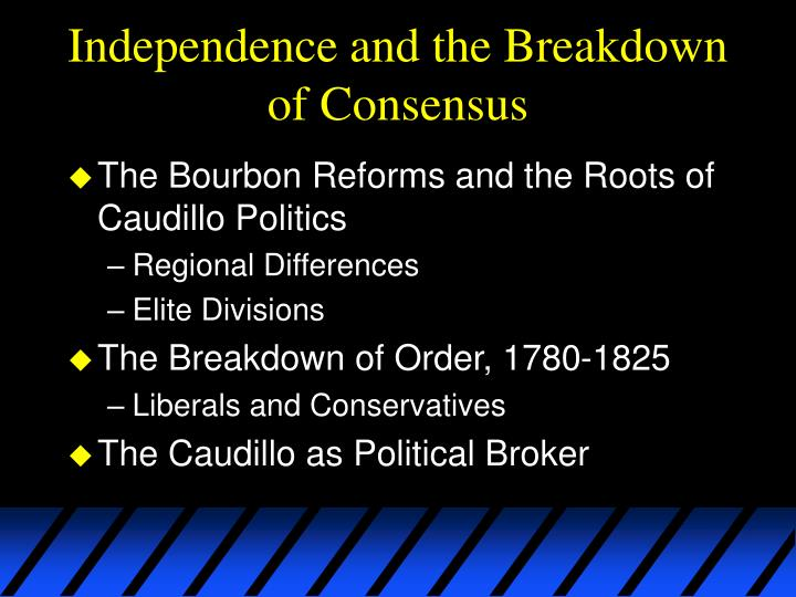 Independence and the Breakdown of Consensus