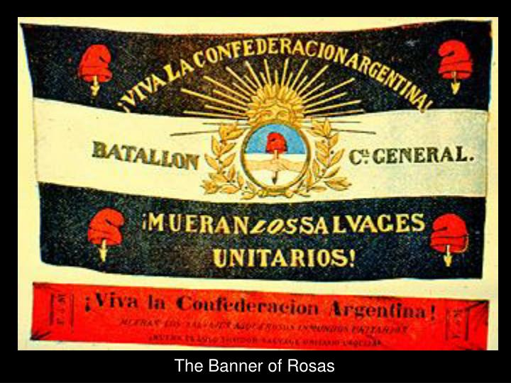 The Banner of Rosas