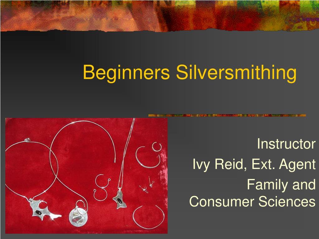beginners silversmithing l.