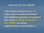 genesis 18 19a nasb