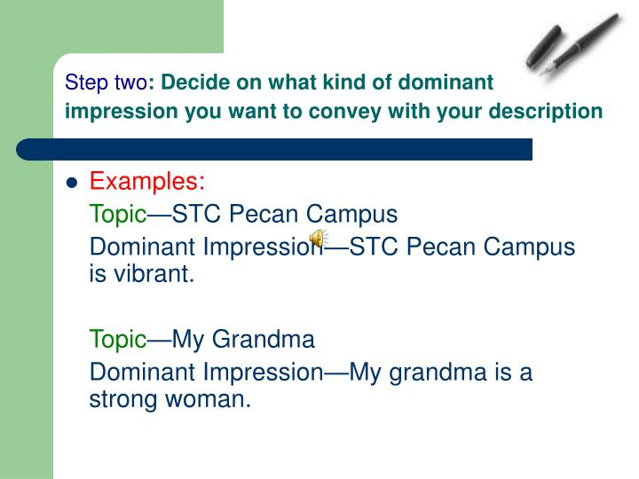 describe your campus for essay