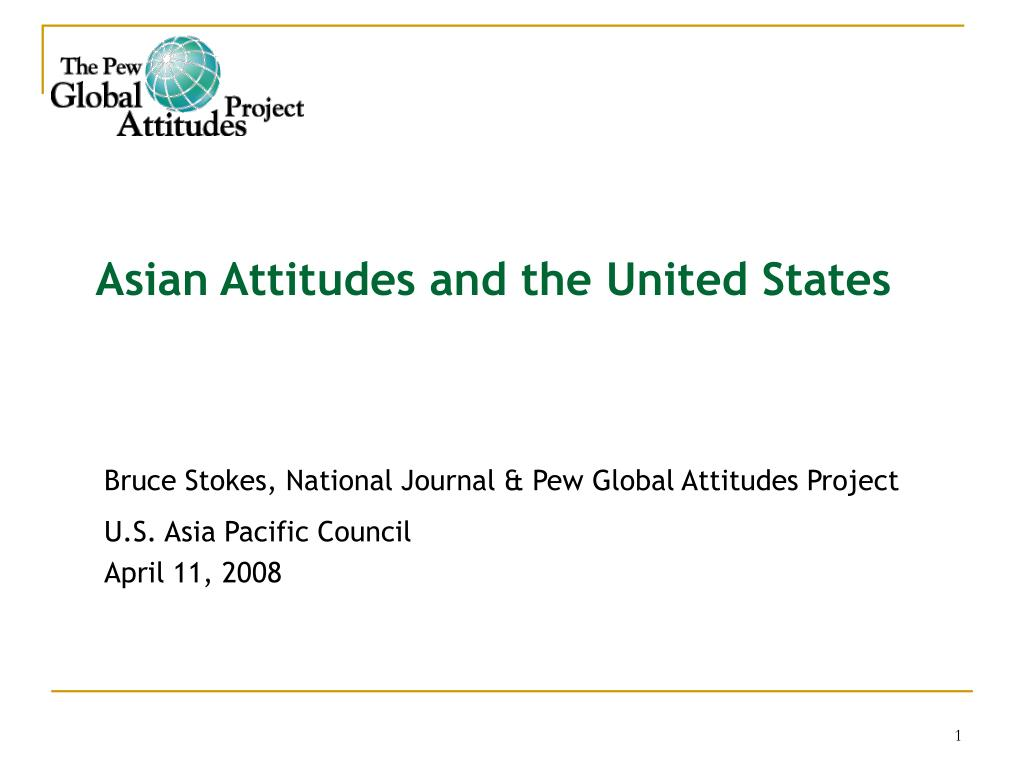 asian attitudes and the united states l.