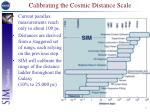 calibrating the cosmic distance scale