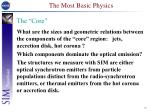 the most basic physics