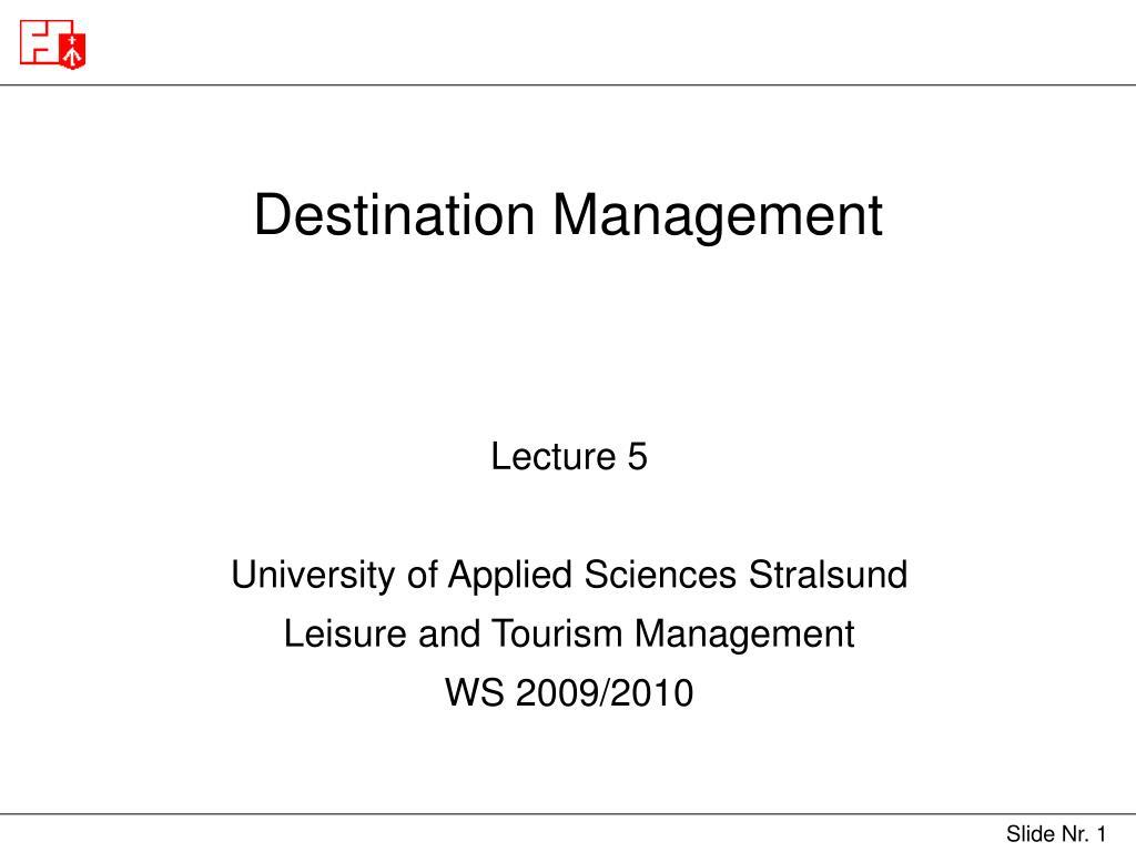 destination management l.
