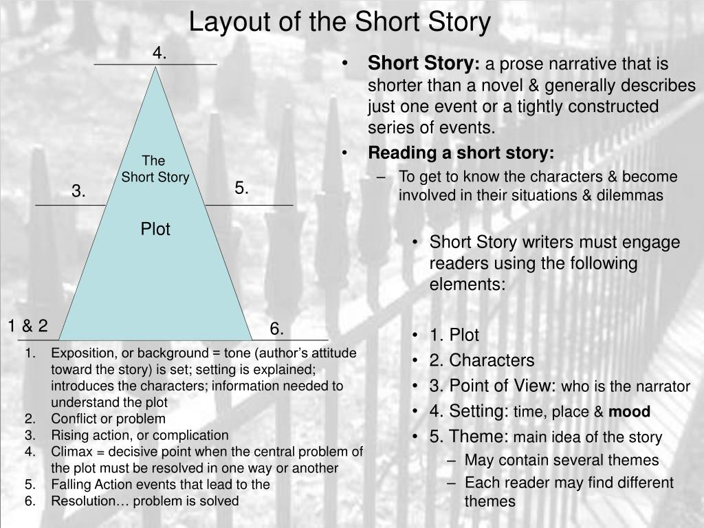 layout of the short story l.