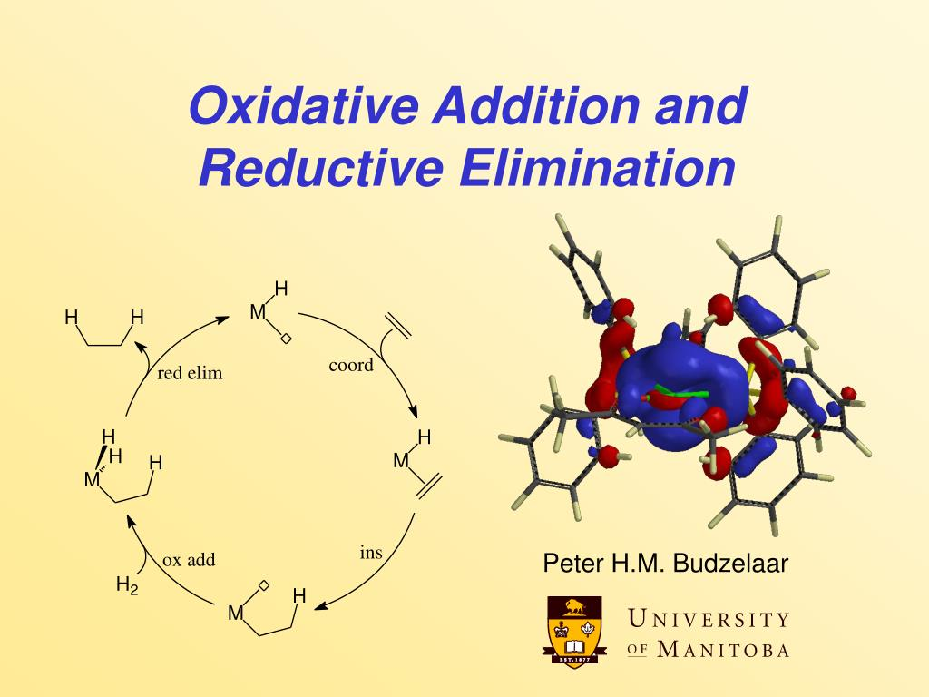 oxidative addition and reductive elimination l.