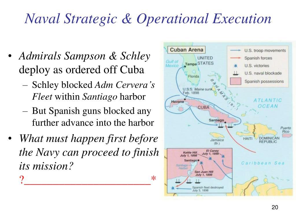 Naval Strategic & Operational Execution