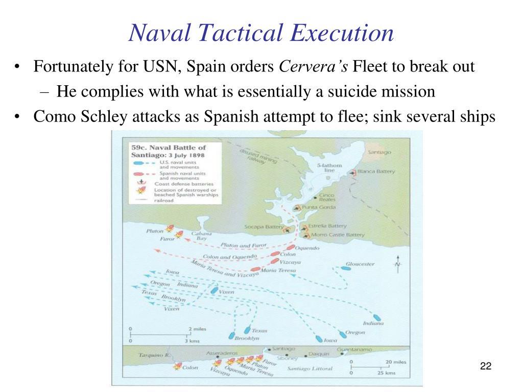Naval Tactical Execution