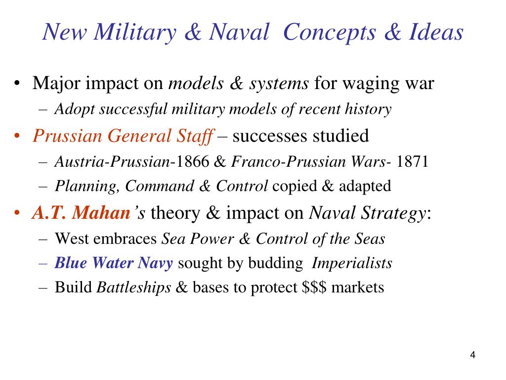 New Military & Naval  Concepts & Ideas