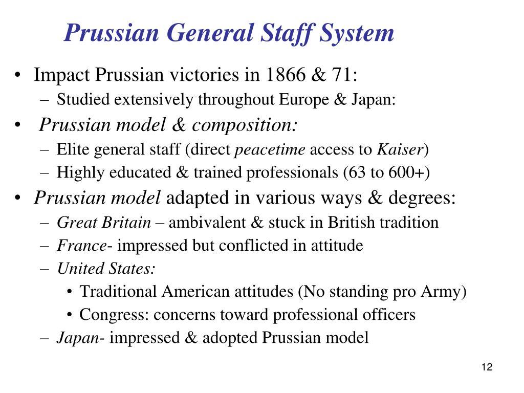 Prussian General Staff System