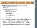 direct threat43