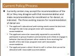 policy processes