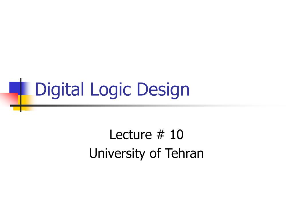 digital logic design l.