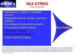 sea strike future technologies