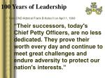 100 years of leadership5