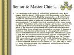 senior master chief