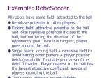 example robosoccer