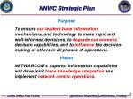 nnwc strategic plan