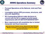nnwg operations summary