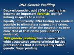 dna genetic profiling