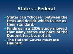 state vs federal