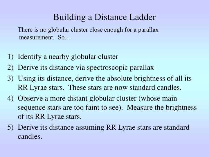 Building a Distance Ladder