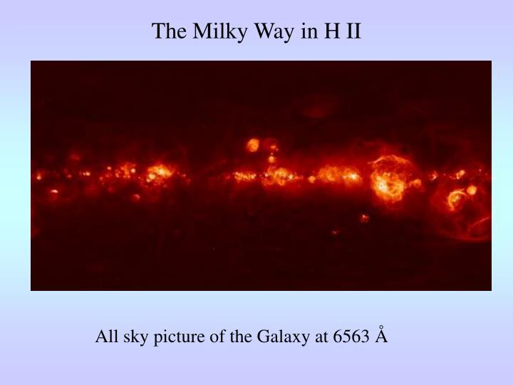 The Milky Way in H II