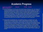 academic progress11